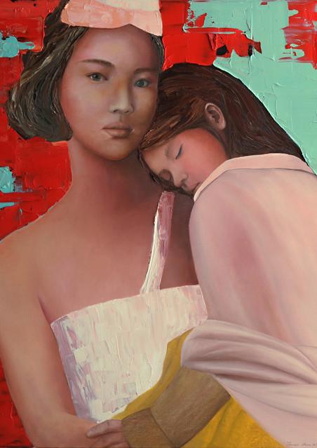 큰언니, Oil on canvas73x53