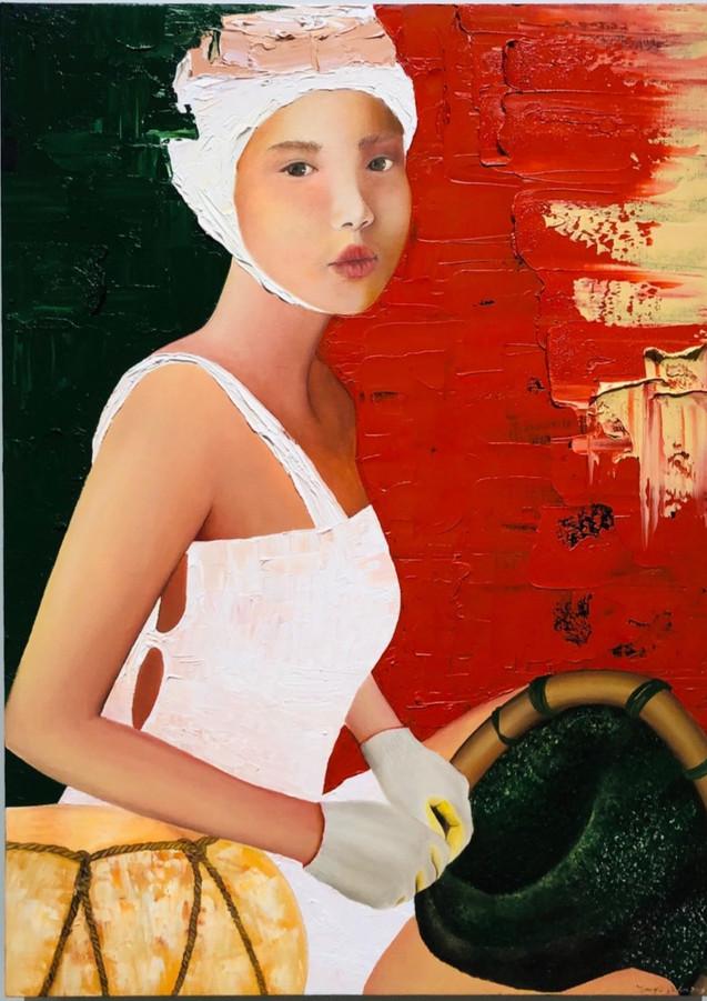 매거진, Oil on Canvas73x53