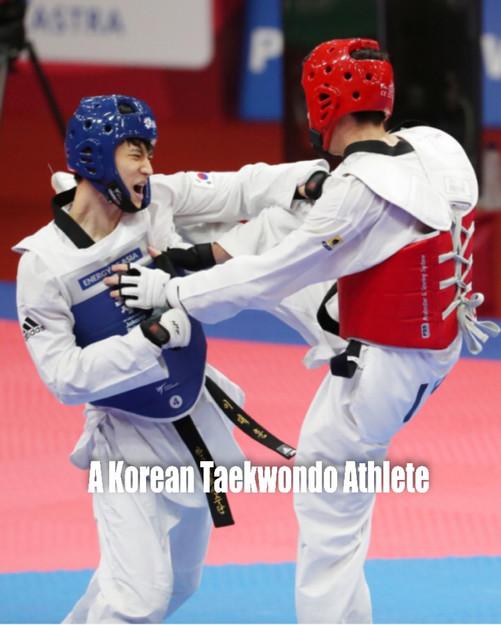 A Korean Taekwondo Athlete.jpg