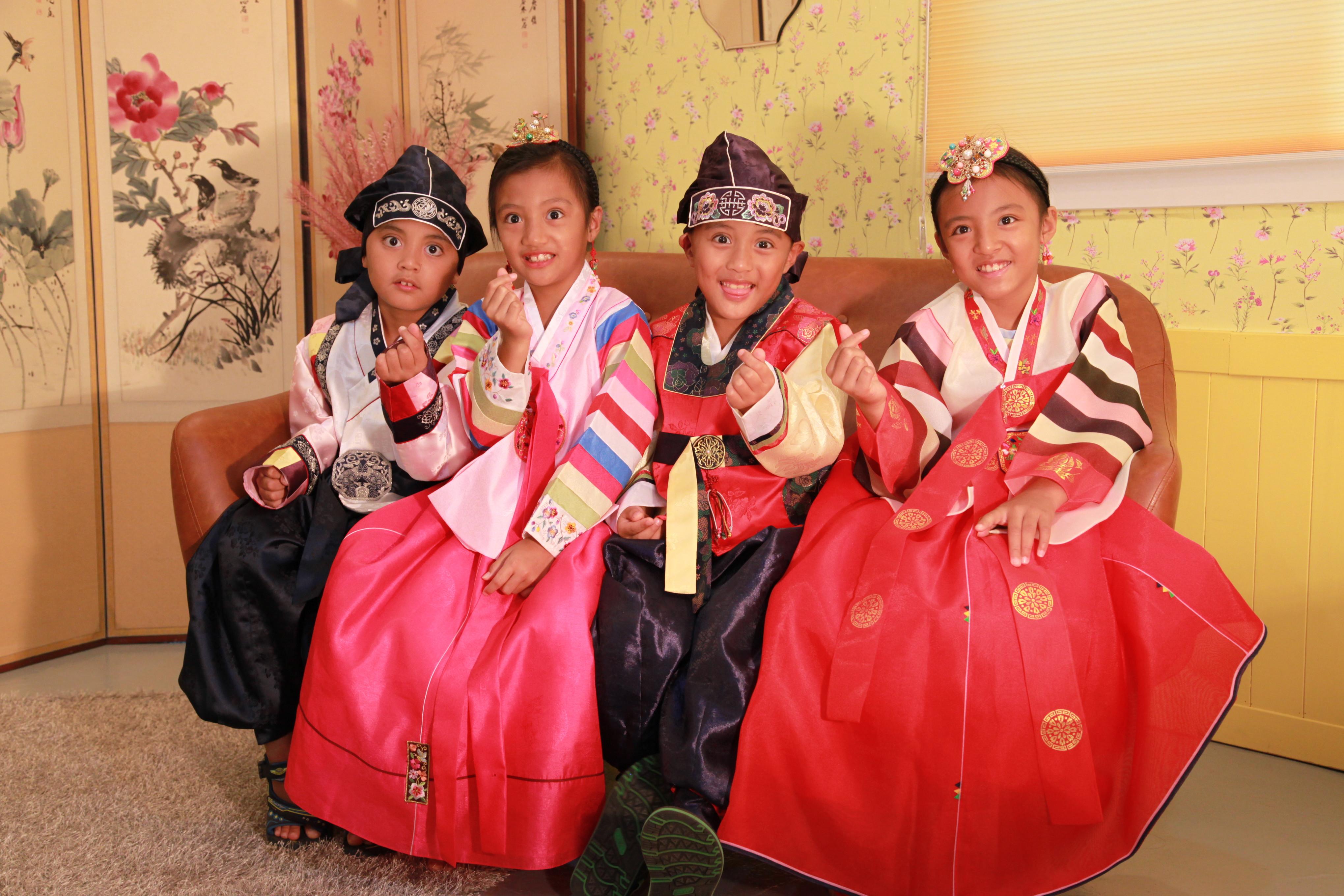 [Kids] Hanbok Rental for 2hrs