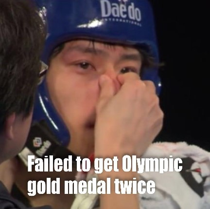 Fail to win olympic gold medal twice.jpg
