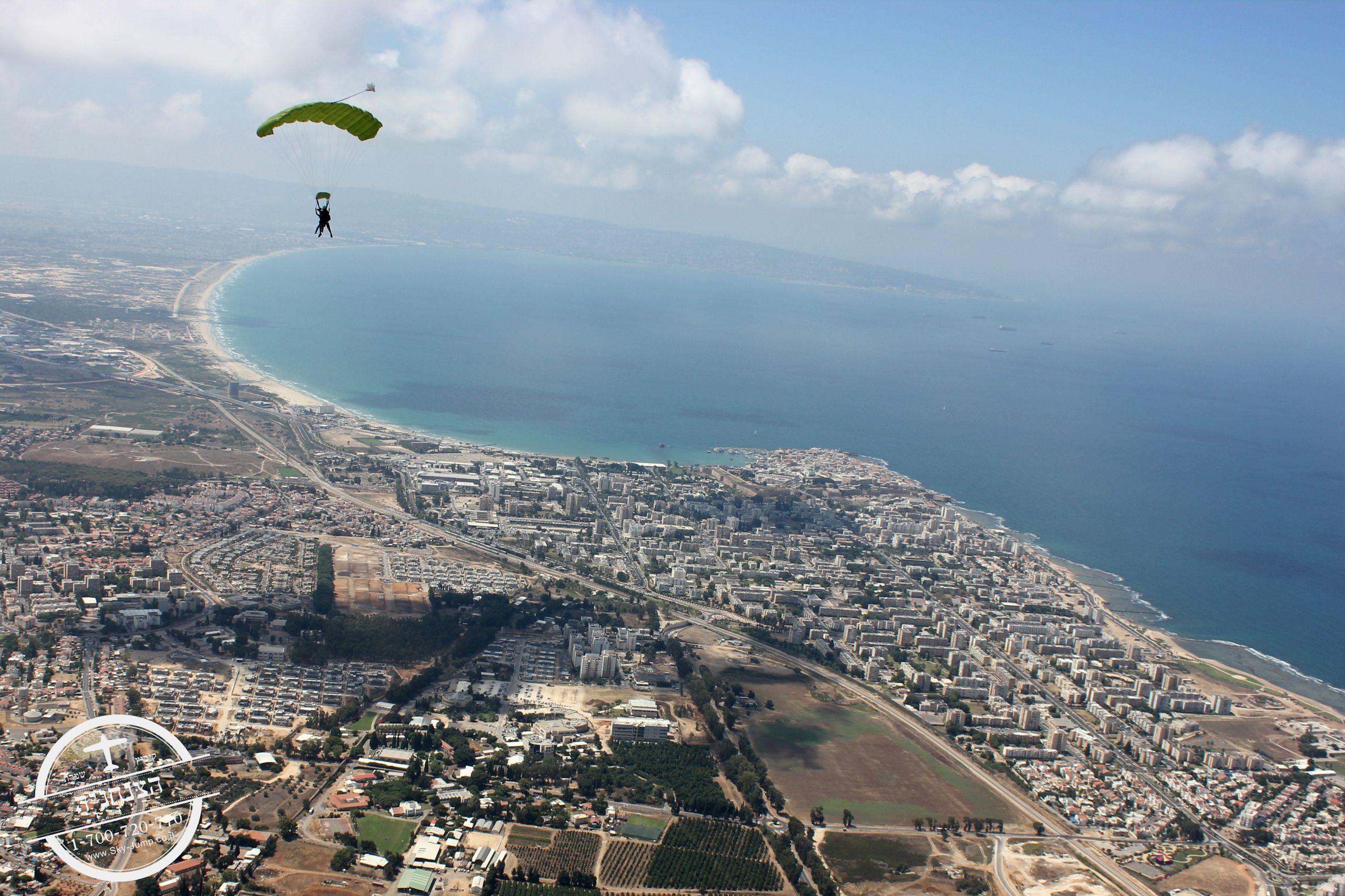 צניחה חופשית | חיפה עכו שמרת נהריה
