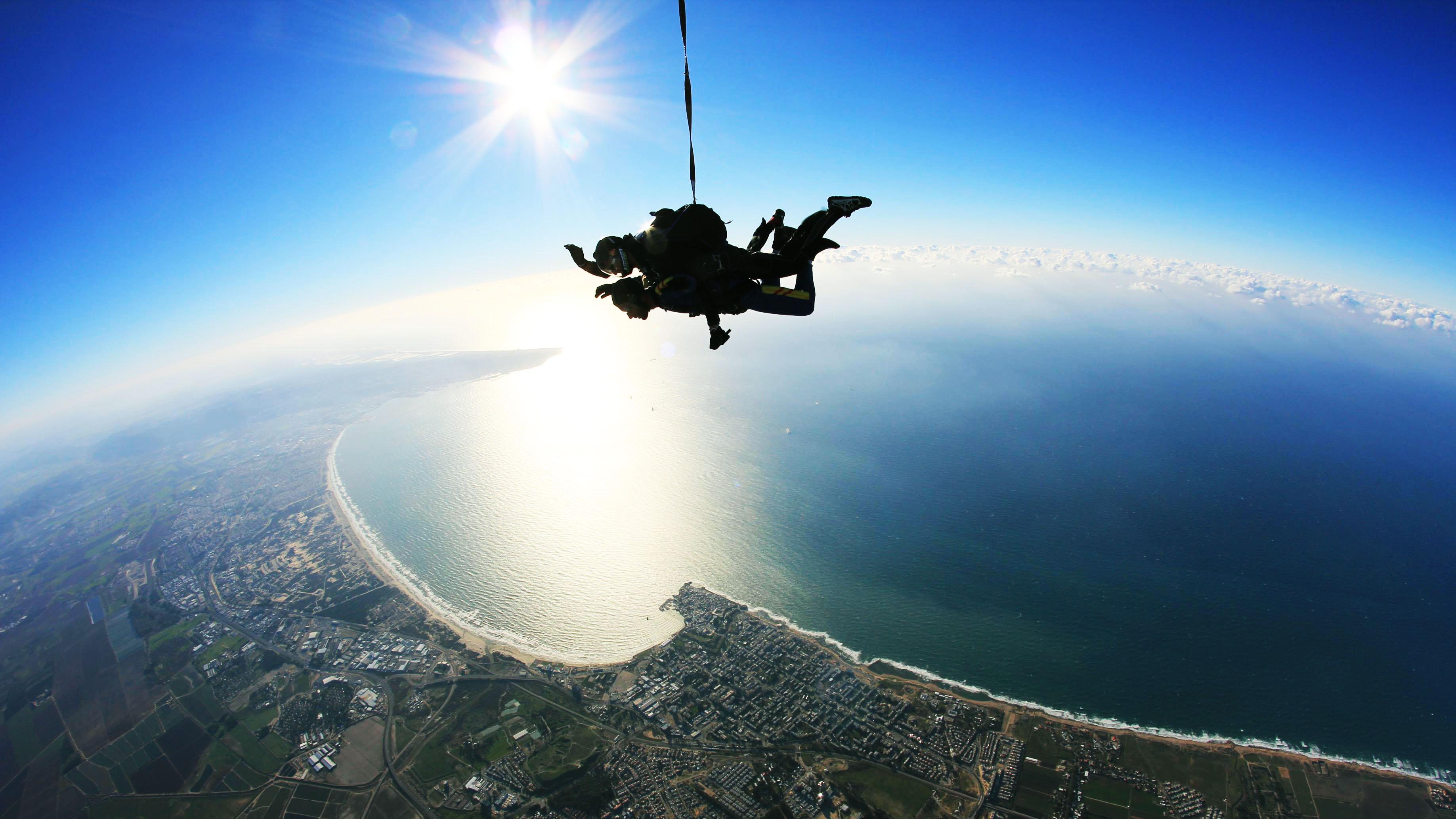 נפילה חופשית מעל הגליל