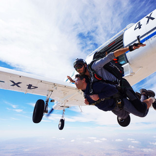 Skydive Dead Sea