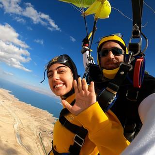 Skydive Dead Sea Israel
