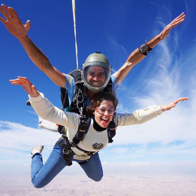 Tandem Skydive Masada Israel