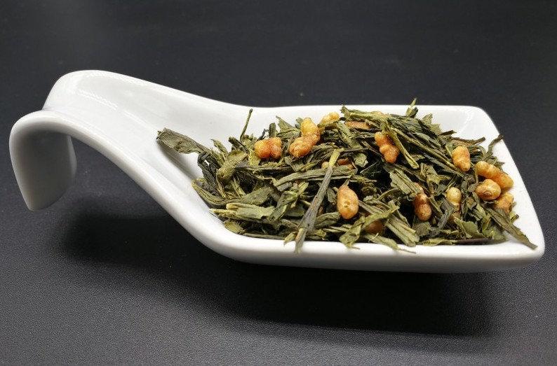 Thé vert Sencha ''Herbes folles'' - riz soufflé  - 50g