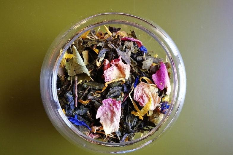 Mélange prémium ''Bouquet d'Orient - Rose, mangue, orange''  - 50g