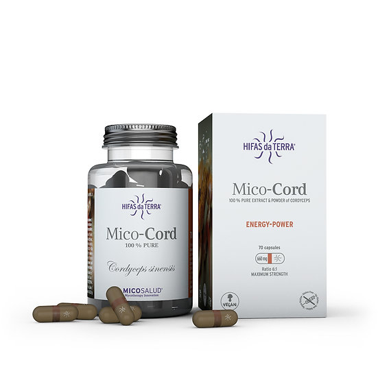 Mico-Cord – Extrait pur biologique de Cordyceps - 70