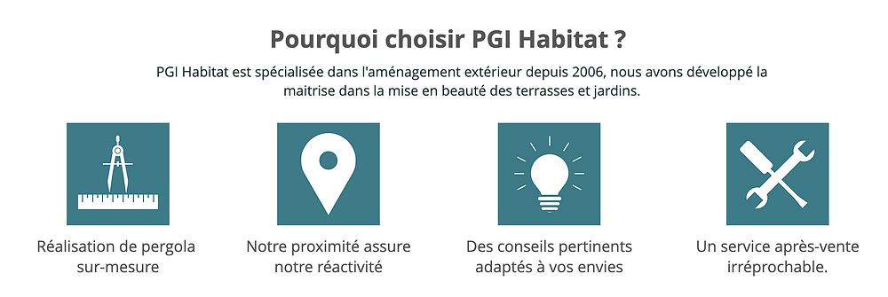 Pourquoi choisir PGI Habitat pour l'installation d'une pergola bioclimatique