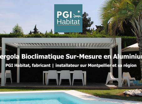 Installation d'une pergola bioclimatique sur Montpellier