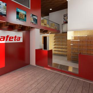 Render   Diseño de interiores   muebles sobre diseño   Remodelación de local comercial