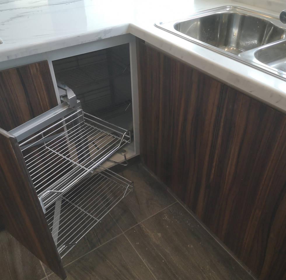 Esquineros de extracción completa | Diseño de cocina | Diseño de interiores | Muebles sobre diseño | Condado de Sayavedra.