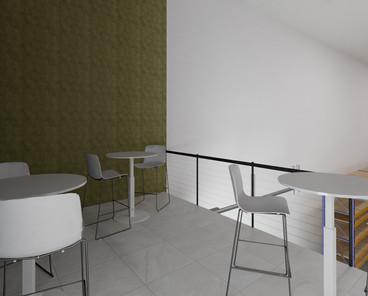 Comedor exterior | Diseño de interiores | Diseño virtual | Remodelación de local comercial