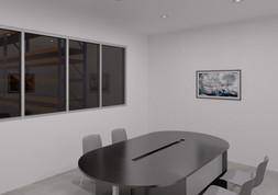 Sala de juntas | Diseño de interiores | renders | Remodelación de local comercial.