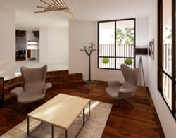 Render | Diseño de interiores | muebles sobre diseño | Las águilas