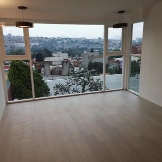 Recamara principal | Remodelación integral | diseño de interiores | Remodelación San Mateo.