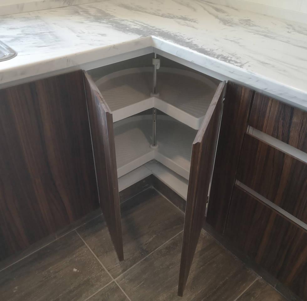 Esquineros giratorios | Diseño de cocina | Diseño de interiores | Muebles sobre diseño | Condado de Sayavedra.