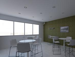 Cafetería de oficina