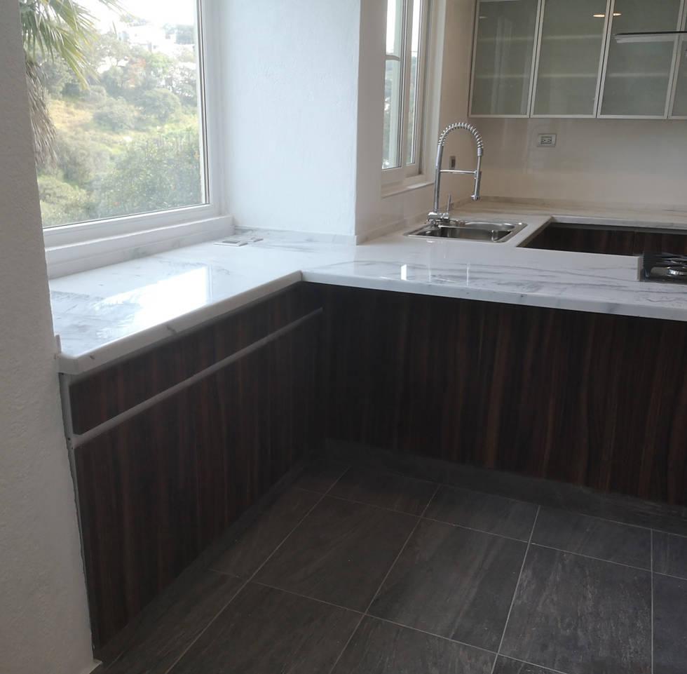 Gabinetes en muro | Diseño de cocina | Diseño de interiores | Muebles sobre diseño | Condado de Sayavedra.