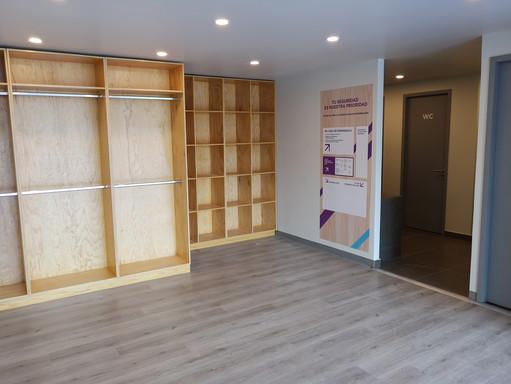 Muebles de closet   Diseño de interiores   muebles sobre diseño   Remodelación de local comercial   Arboledas.