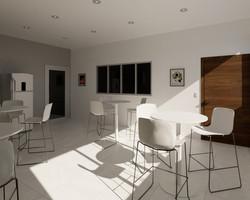 Comedor de oficina | Imagen Virtual | Diseño de interiores