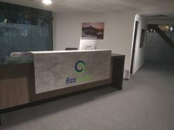 Recepción de oficina | Diseño de interiores