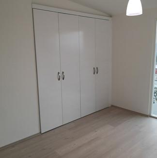 Recámara Secundaria | Remodelación integral | diseño de interiores | Remodelación San Mateo.