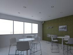 Comedor de Oficina | Renders | Diseño de interiores