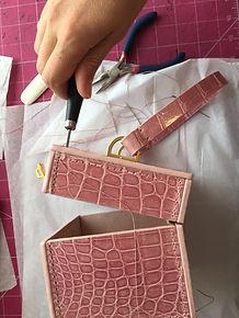 Box angle stitch