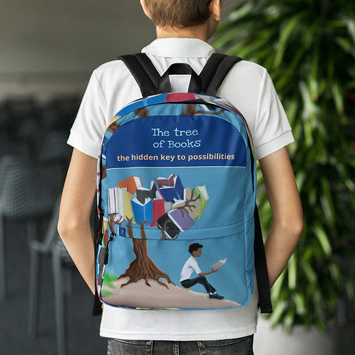 Tree of books Backpack