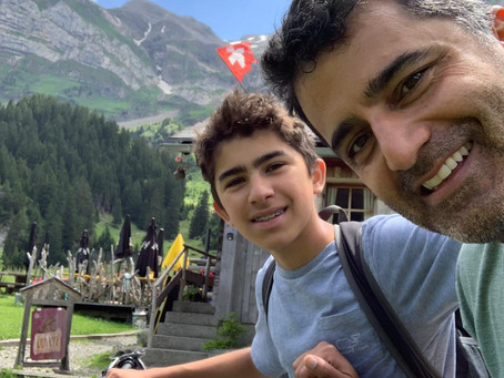 Father and son's surprise travel to Switzerland: an unforgettable experience