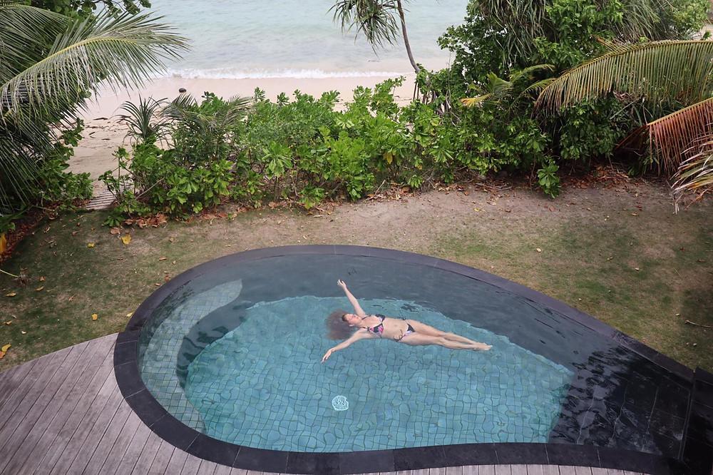 honeymoon in Indonesia private pool