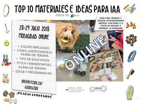 SEMINARIO MATERIALES E IDEAS PARA IAA TOP10