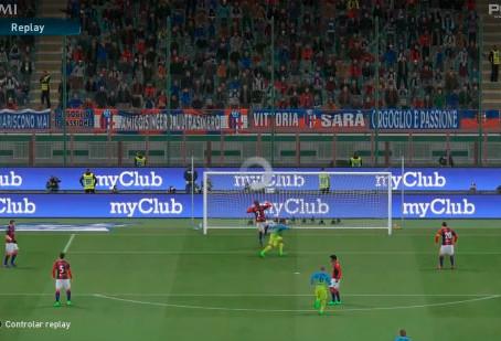 4ComM e Konami inovam em reapresentação do primeiro gol de Gabigol pela Internazionale