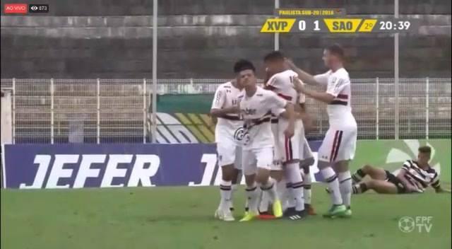 Glória a Deus!! Vitória e gol!! 🙏🏼⚽️ #MadeInCotia São Paulo FC