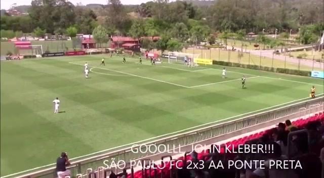 Glória a Deus !! São Paulo FC 2 x 3 Ponte_Preta l Paulista sub-17 !!