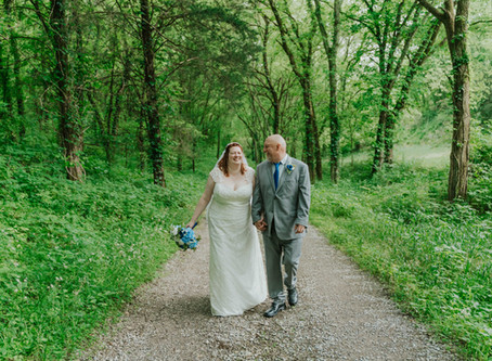 Intimate Wedding at Butterfly Hollow   Risen Vintage Photography