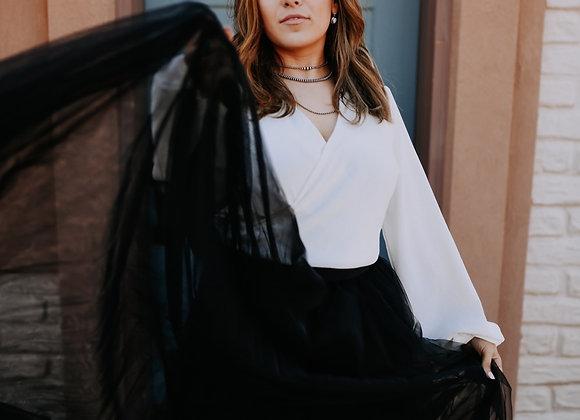 The Laramie Skirt Black
