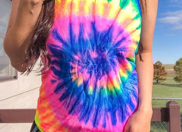 Rainbow Tie Dye Tank