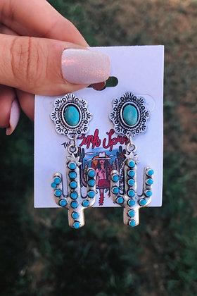 The Cactus Canyon Earrings