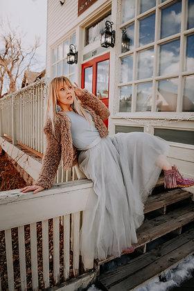 The Laramie Skirt Grey