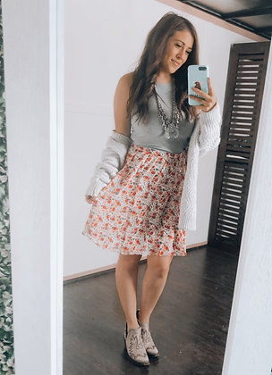 The Bright Blossom Skirt