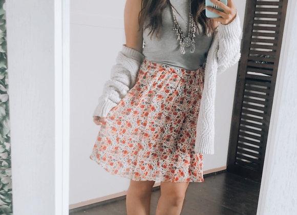 The Bright Blossom Skirt