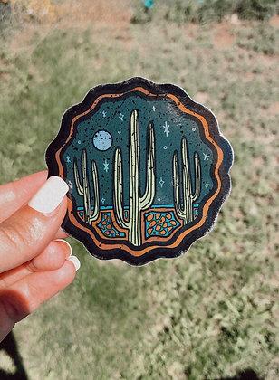Desert Dreamer Shimmer Sticker