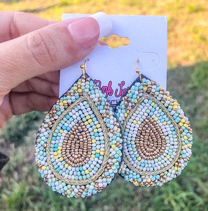 The Beaded Bella Earrings