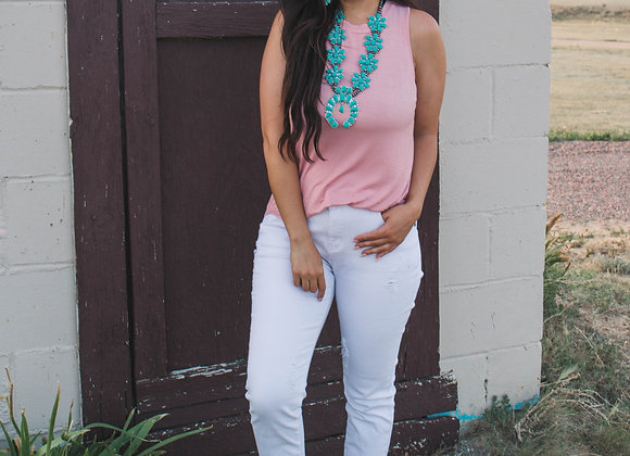 Pink Lilly Tank