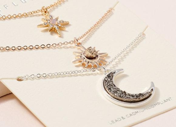 The Luna Necklace Set