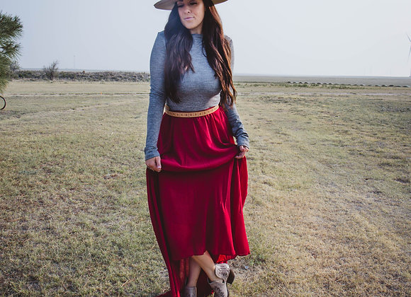 Loretta Bodysuit (Heather Gray)