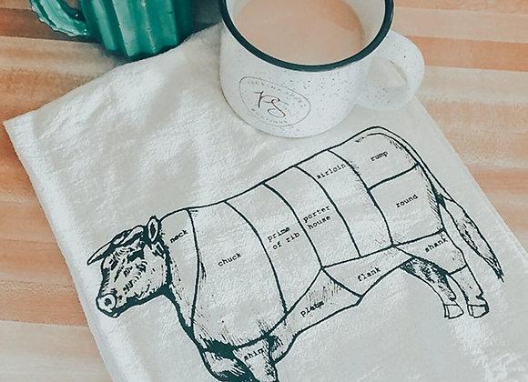 Beefy Tea Towel